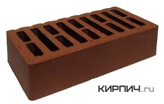 Так выглядит Кирпич терракот керамический облицовочный одинарный М-150 250х120х65 на фото
