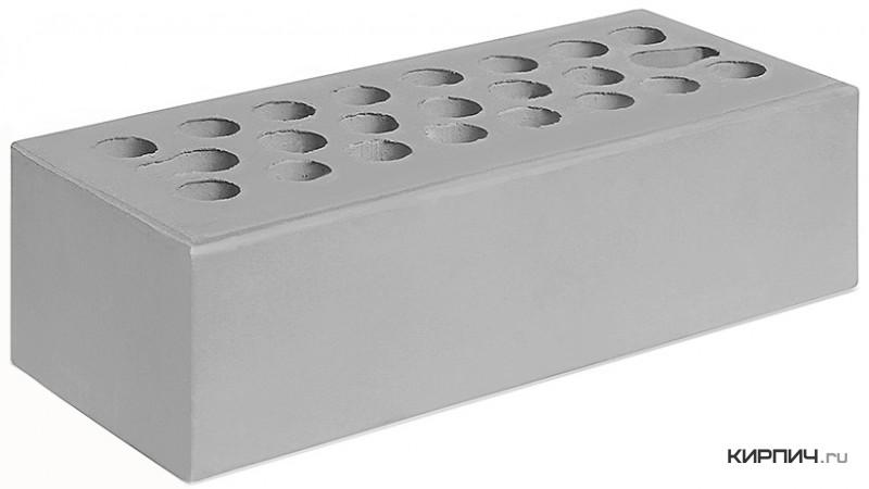 Так выглядит Кирпич серебро керамический облицовочный евро М-150 250х120х65 Керма на фото