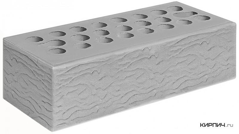 Так выглядит Кирпич серебро керамический облицовочный рустик М-150 250х85х65 евро Керма на фото