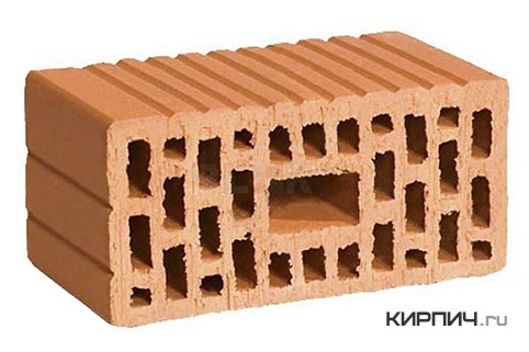 Так выглядит Поризованный блок 2,1 НФ М150 250х120х140 на фото